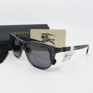 B 4319 3544/81 Burberry Gray Polarized Sunglasses